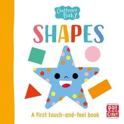 Chatterbox Baby: Shapes / Книга з тактильними відчуттями