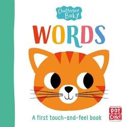 Chatterbox Baby: Words / Книга з тактильними відчуттями