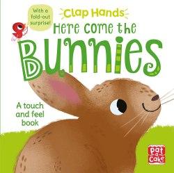 Clap Hands: Here Come the Bunnies / Книга з тактильними відчуттями