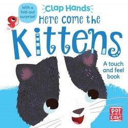 Clap Hands: Here Come the Kittens / Книга з тактильними відчуттями
