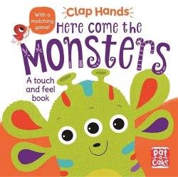 Clap Hands: Here Come The Monsters / Книга з тактильними відчуттями