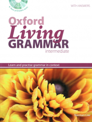 Oxford Living Grammar Intermediate with answers and CD-ROM / Граматика