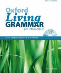 Oxford Living Grammar Pre-Intermediate with answers and CD-ROM / Граматика