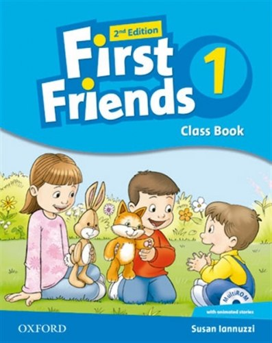 First Friends 1 (2nd Edition) Class Book and MultiROM Pack / Підручник для учня