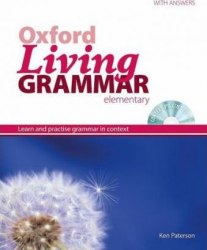 Oxford Living Grammar Elementary with answers and CD-ROM / Граматика
