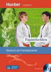 Lektüren für Jugendliche A2 Papierhelden + Audio-CD
