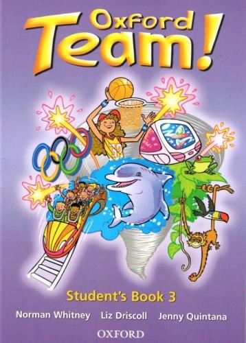 Oxford Team 3 Student's Book / Підручник для учня