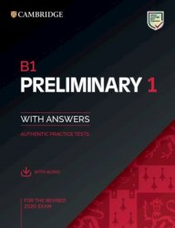 B1 Preliminary 1 for the Revised 2020 Exam Student's Book with Answers and Downloadable Audio