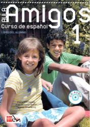 Aula Amigos 1 Libro del alumno + Portfolio + CD-Audio / Підручник для учня