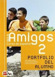 Aula Amigos 2 Libro del alumno + Portfolio + CD-Audio / Підручник для учня