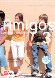 Aula Amigos 3 Libro del alumno + Portfolio + CD-Audio / Підручник для учня