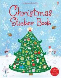 Christmas Sticker Book / Книга з наклейками