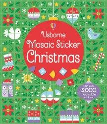 Mosaic Sticker Christmas / Книга з наклейками