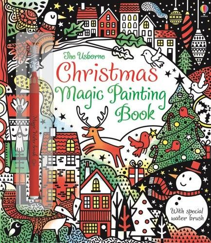 Christmas Magic Painting Book Usborne Publishing