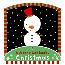 М'яка книжка Baby's First Cot Book - Christmas Usborne Publishing