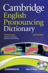 Cambridge English Pronouncing Dictionary 18th Edition + CD-ROM
