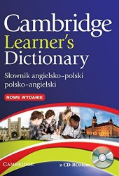 Cambridge Learner's Dictionary English–Polish (2nd Edition) + CD-ROM