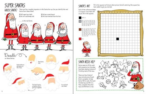 Christmas Activity Book Usborne Publishing / Підручник для учня