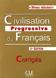 Civilisation Progressive du Français 2e Édition Débutant Corrigés / Брошура з відповідями