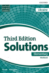 Solutions (3rd Edition) Elementary Workbook Ukraine Oxford University Press