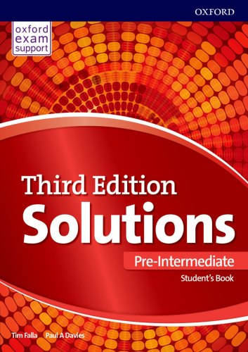 Solutions (3rd Edition) Pre-Intermediate Student's Book / Підручник для учня