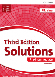 Solutions (3rd Edition) Pre-Intermediate Workbook Ukraine Oxford University Press