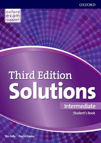 Solutions (3rd Edition) Intermediate Student's Book / Підручник для учня
