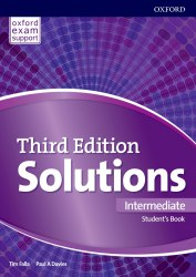 Solutions (3rd Edition) Intermediate Student's Book / Підручник для учня