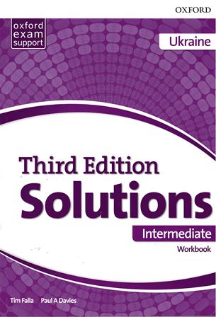 Solutions (3rd Edition) Intermediate Workbook Ukraine / Робочий зошит, видання для України