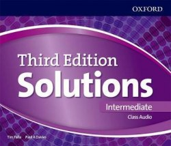 Solutions (3rd Edition) Intermediate Class Audio CDs / Аудіо диск