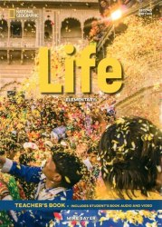 Life (2nd edition) Elementary Teacher's Book with Audio CD and DVD-ROM / Підручник для вчителя