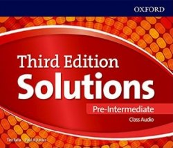 Solutions (3rd Edition) Pre-Intermediate Class Audio CDs / Аудіо диск