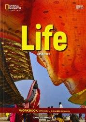 Life (2nd edition) Advanced Workbook with Key and Audio CD / Робочий зошит з відповідями