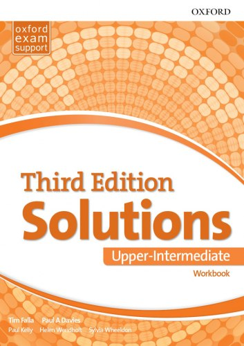 Solutions (3rd Edition) Upper-Intermediate Workbook / Робочий зошит