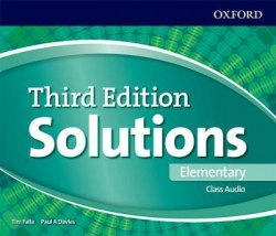 Solutions (3rd Edition) Elementary Class Audio CDs / Аудіо диск