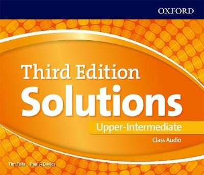 Solutions (3rd Edition) Upper-Intermediate Class Audio CDs / Аудіо диск