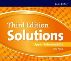 Solutions (3rd Edition) Upper-Intermediate Class Audio CDs / Аудіо диск
