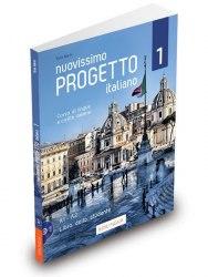 Progetto Italiano Nuovissimo 1 (A1-A2) Libro dello studente + DVD / Підручник для учня