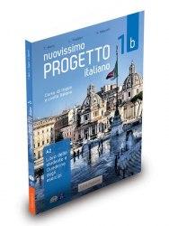 Progetto Italiano Nuovissimo 1b (Libro dello studente + Quaderno + esercizi interattivi + DVD +CD) / Підручник + зошит
