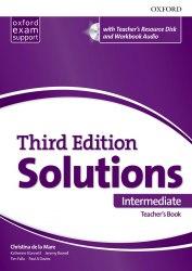Solutions (3rd Edition) Intermediate Teacher's Book with Teacher's Resource Disc and Workbook Audio / Підручник для вчителя