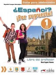 Espanol Por supuesto 1 Libro del profesor + CD / Підручник для вчителя