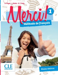 Merci! 1 A1 Livre + DVD-ROM / Підручник для учня