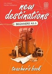 New Destinations Beginners A1.1 Teacher's Book / Підручник для вчителя