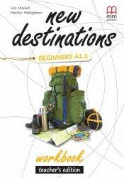 New Destinations Beginners A1.1 Workbook Teacher's Edition / Робочий зошит з відповідями