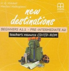 New Destinations Beginners-Pre-Intermediate Teacher's Resource CD/CD-ROM / Інтерактивний комп'ютерний диск