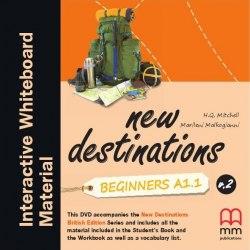 New Destinations Beginners A1.1 DVD IWB Pack / Ресурси для інтерактивної дошки