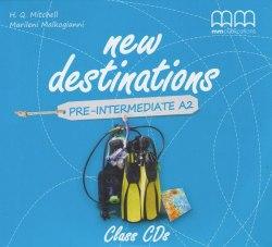 New Destinations Pre-Intermediate A2 Class CDs / Аудіо диск