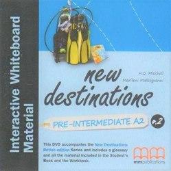 New Destinations Pre-Intermediate A2 DVD IWB Pack / Ресурси для інтерактивної дошки