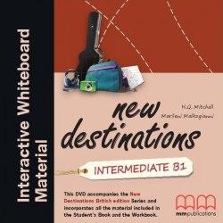 New Destinations Intermediate B1 DVD IWB Pack / Ресурси для інтерактивної дошки