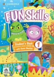Fun Skills 1 Student's Book with Home Booklet and Downloadable Audio / Підручник для учня